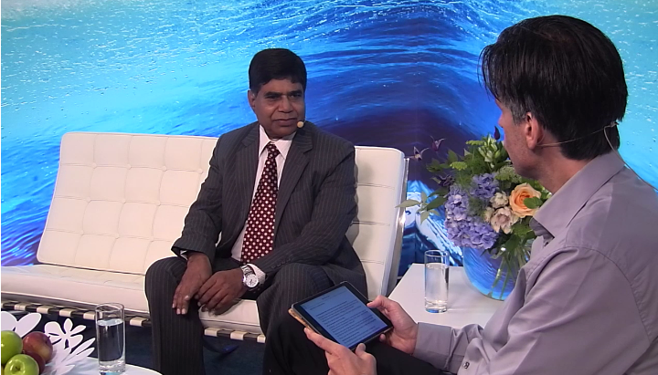 Mr. Mohammed Abdullah, Managing Director of KWASA at the Stockholm World Water Week 2016